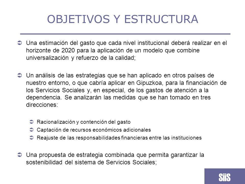 COBERTURA PERSONAS MAYORES Se trata de un modelo de Servicios Sociales homologable al que existe en otros países.