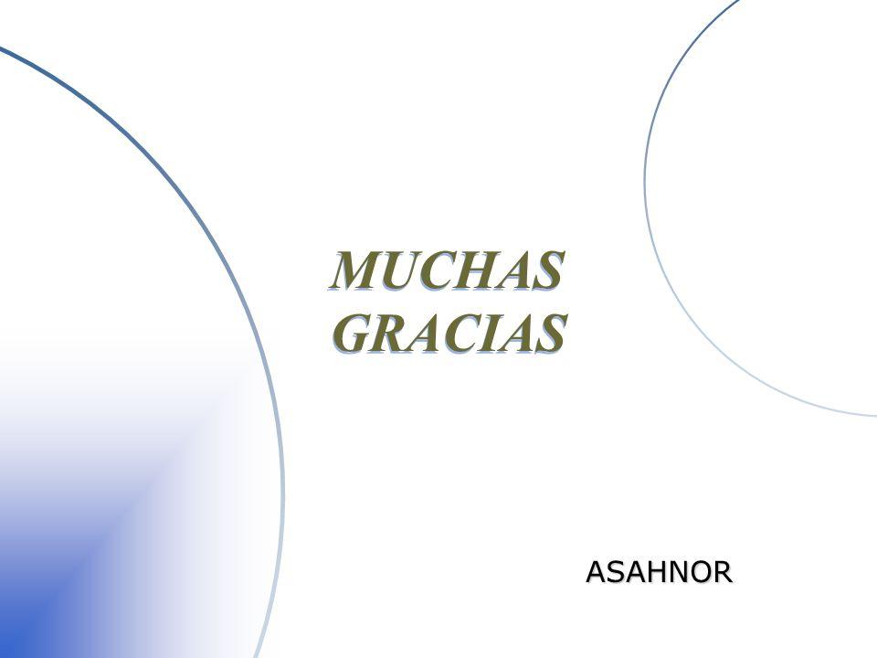 MUCHAS GRACIAS ASAHNOR