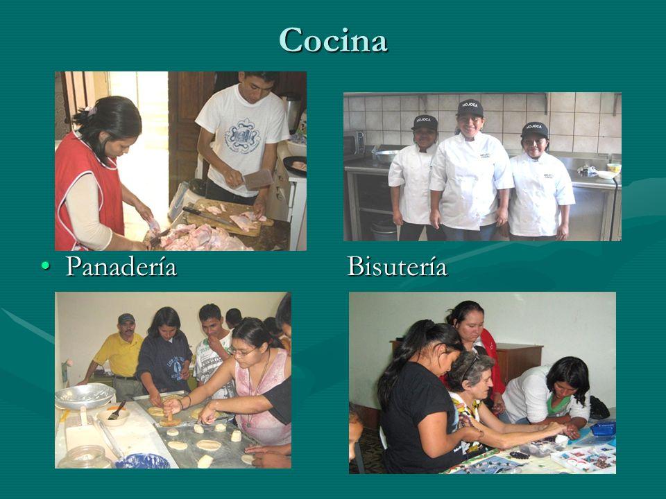 Cocina Panadería BisuteríaPanadería Bisutería