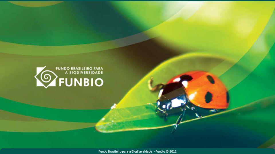 Fundo Brasileiro para a Biodiversidade - Funbio © 2012