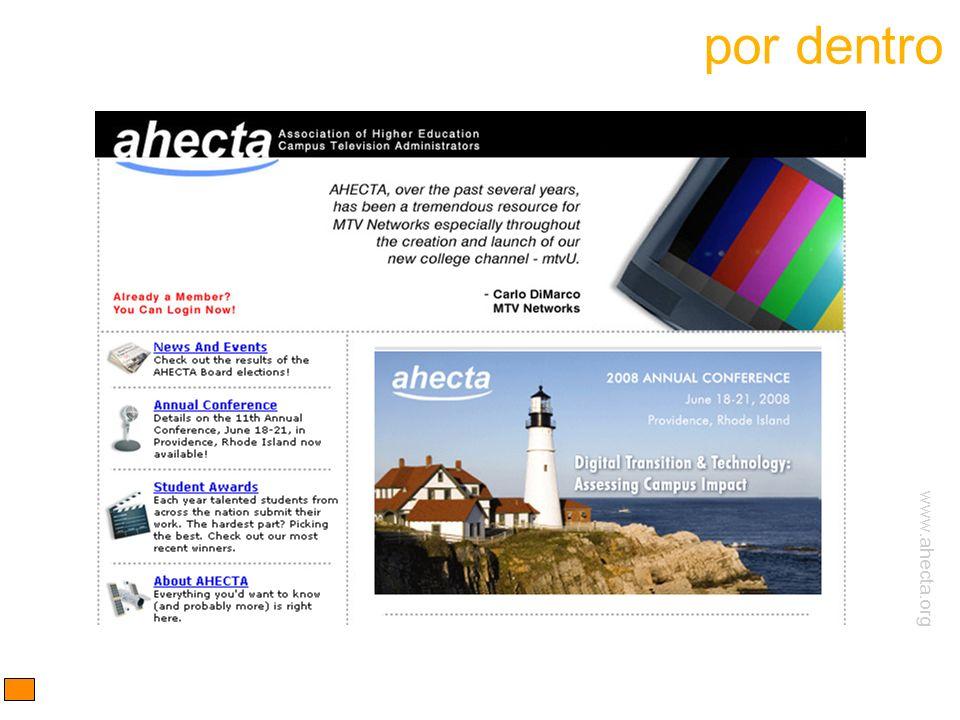www.ahecta.org por dentro