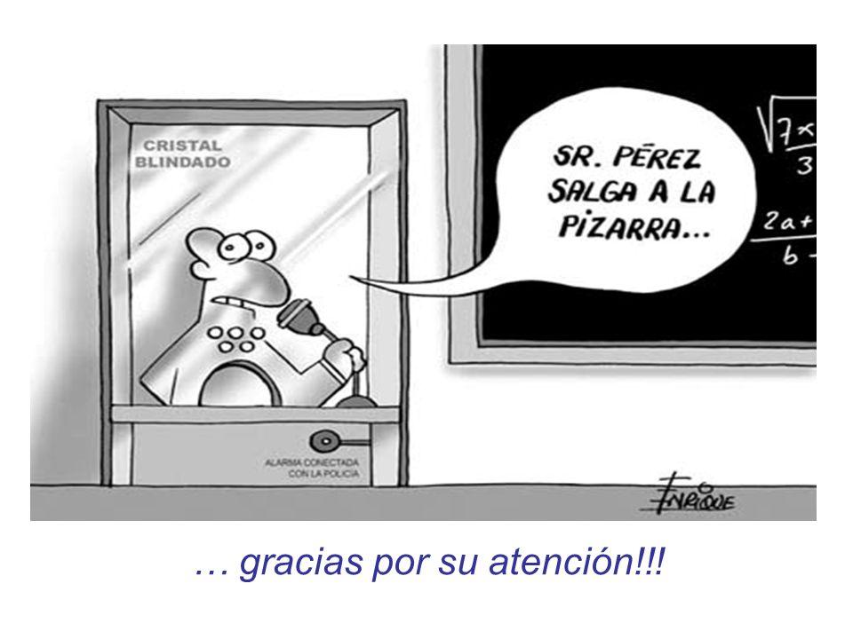 … gracias por su atención!!!