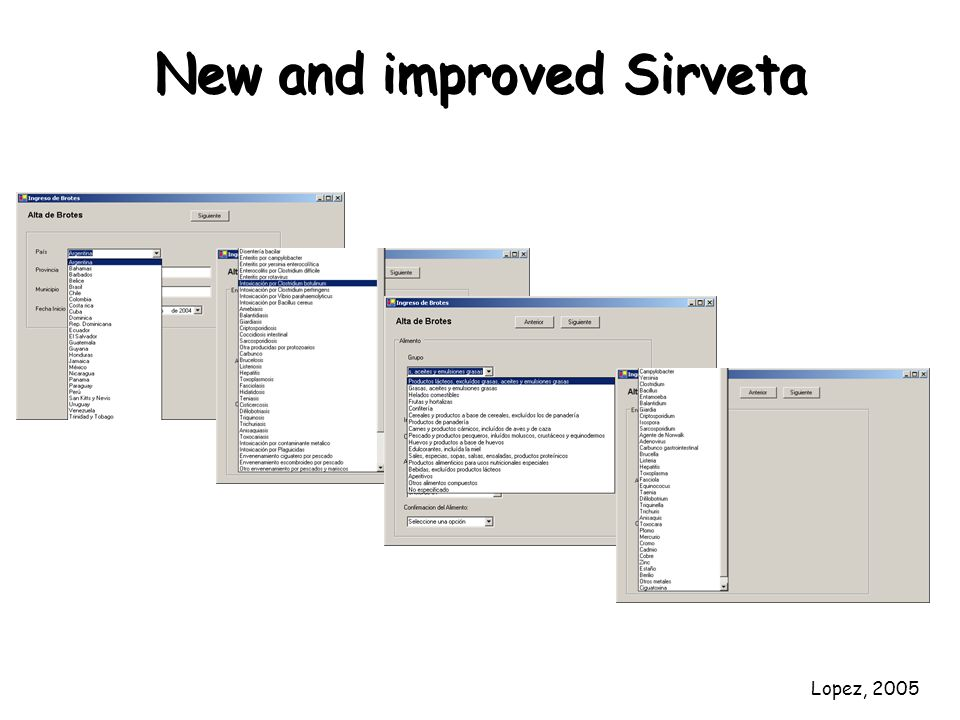 New and improved Sirveta Lopez, 2005