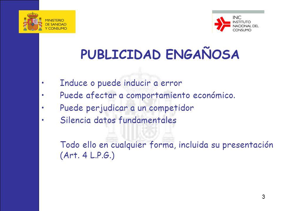 14 PUBLICIDAD ENGAÑOSA 8.