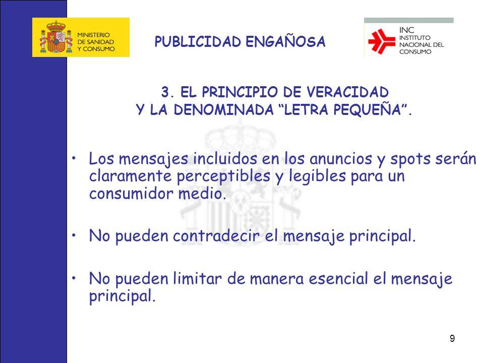 10 PUBLICIDAD ENGAÑOSA 4.