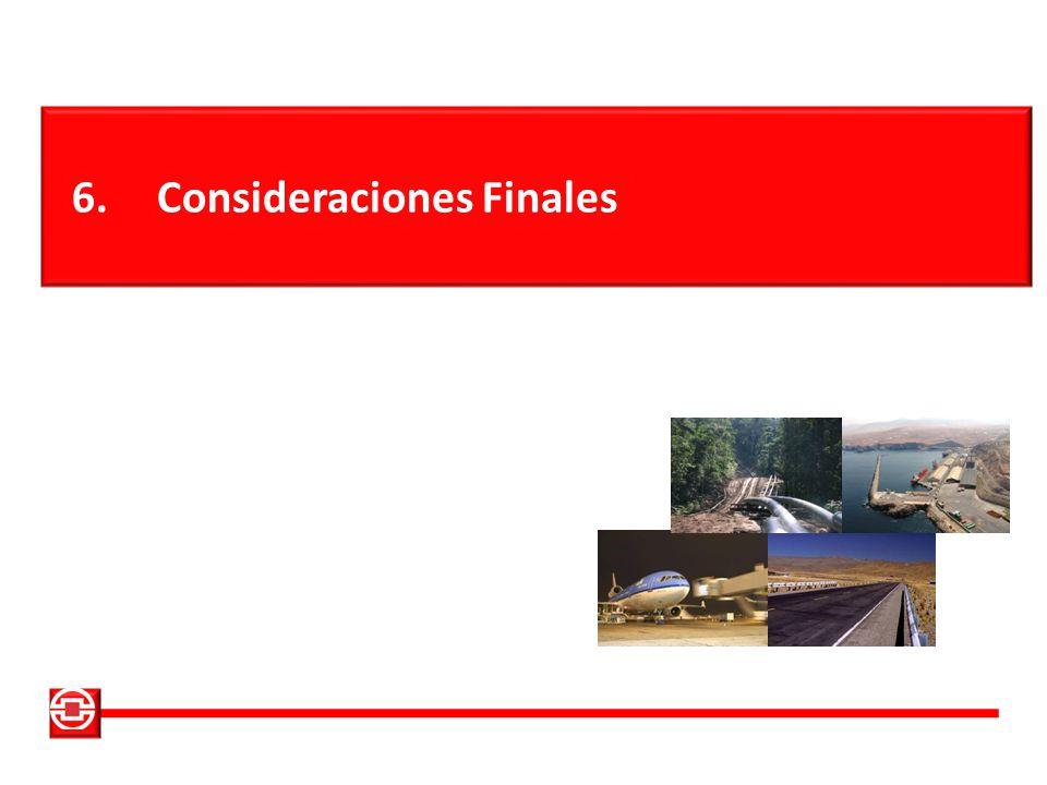 6.Consideraciones Finales