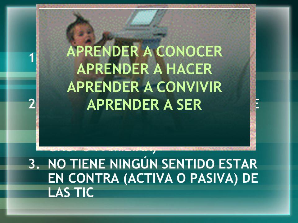 C. 10 PROPUESTAS PARA SEGUIR HACIENDO DE EDUCADORAS Y EDUCADORES EN LA SOCIEDAD DEL CONOCIMIENTO