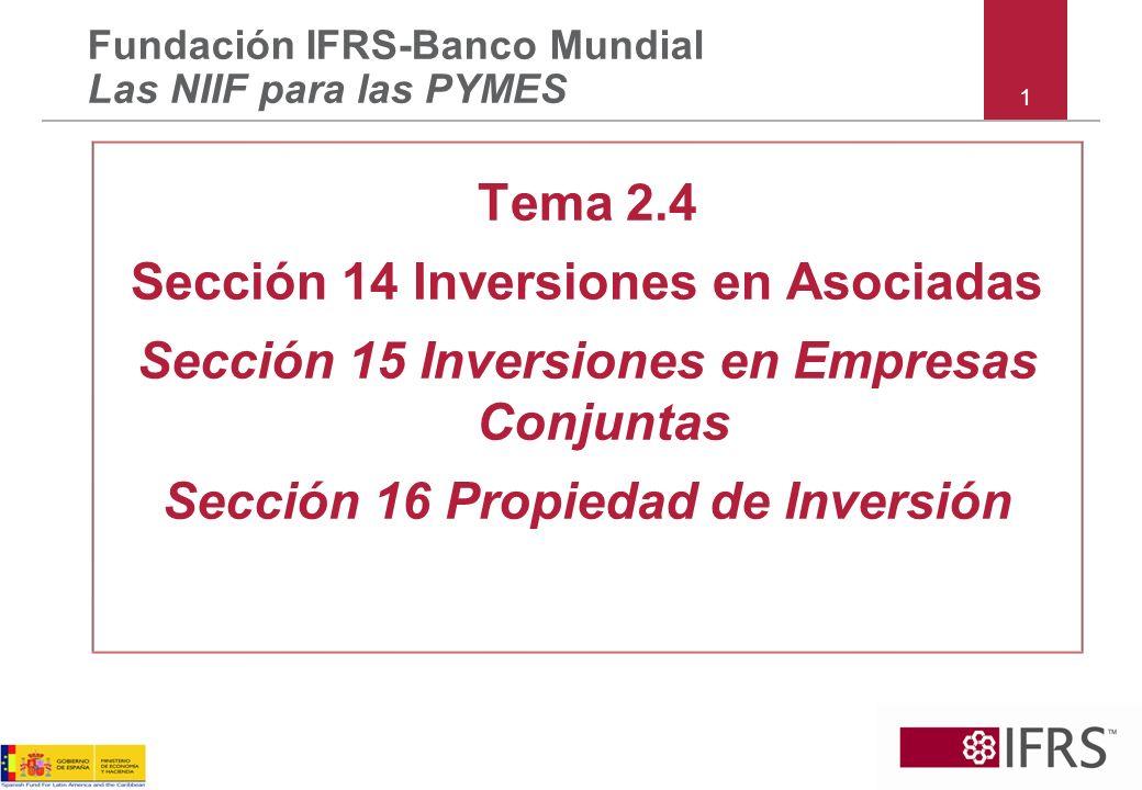 Secciones 14 y 15 – Ejemplos continuación ¿En ausencia de pruebas que evidencien lo contrario – en el alcance de S14, S15 u otra.