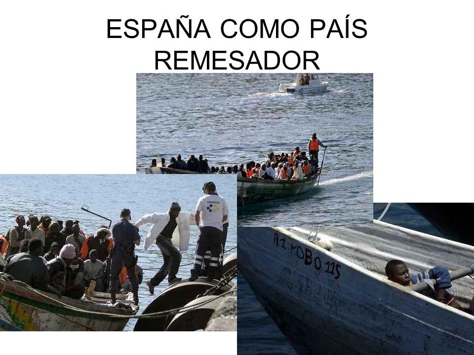 ESPAÑA COMO PAÍS REMESADOR