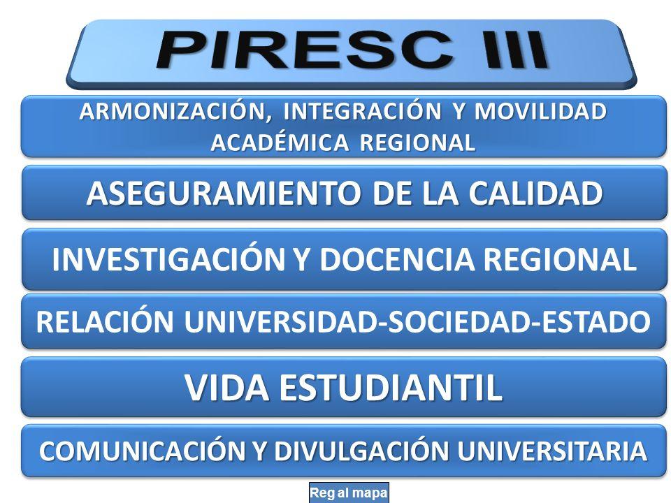 43 Instancias regionales de acreditación: son aquellas constituidas en cualquiera de los Estados parte del presente convenio y que tengan como finalidad acreditar la calidad de los programas académicos específicos de su especialización de universidades públicas y privadas de los países de la región.
