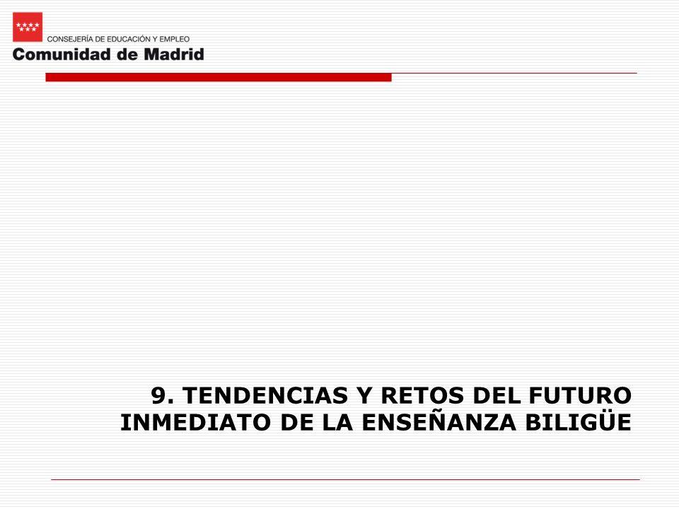 9. TENDENCIAS Y RETOS DEL FUTURO INMEDIATO DE LA ENSEÑANZA BILIGÜE
