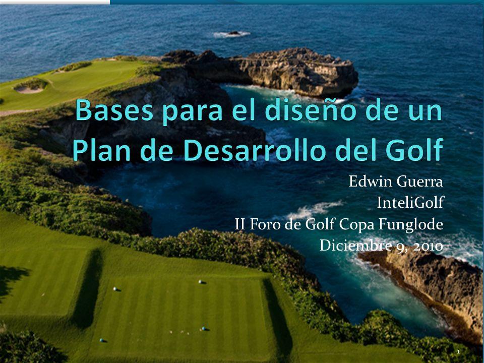 Para aumentar potencial CG Actuales: Desarrollar Bolsa de rondas de golf: Campos de golf publiquen sus disponibilidades y que Resorts y Turoperadores puedan ofertar precios para estructurar paquetes a clientes.