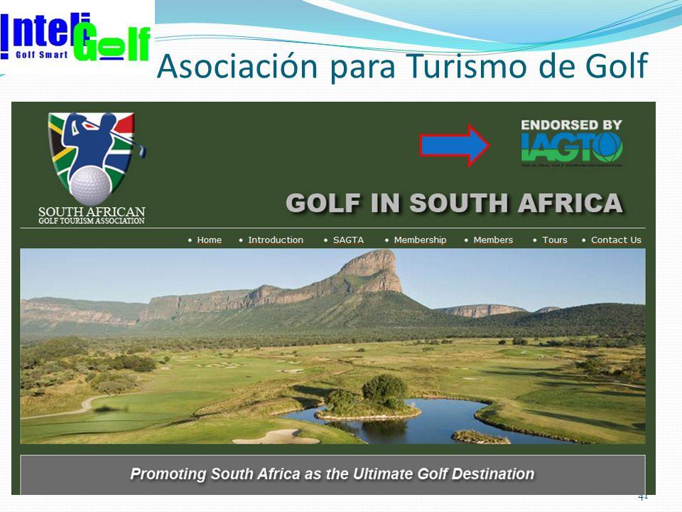 Asociación para Turismo de Golf 41