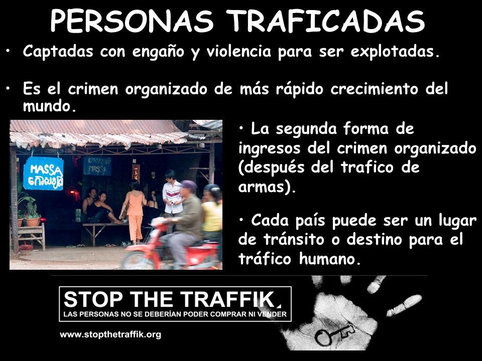 Els nens suposen la meitat de les persones traficades, 12 milions cada any.