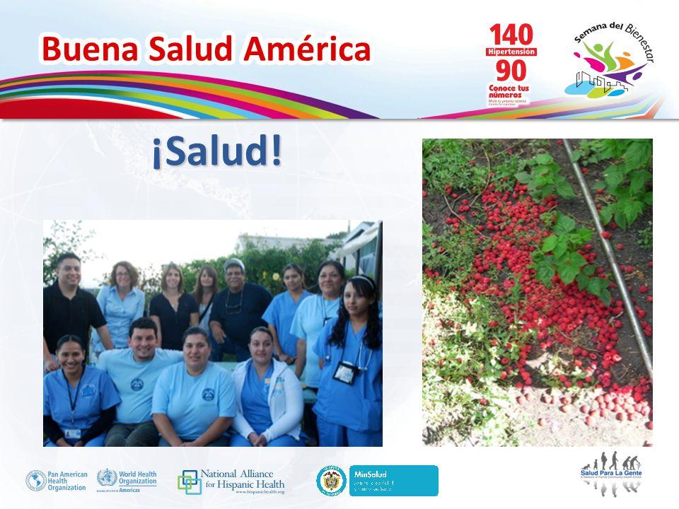 Buena Salud América ¡Salud!