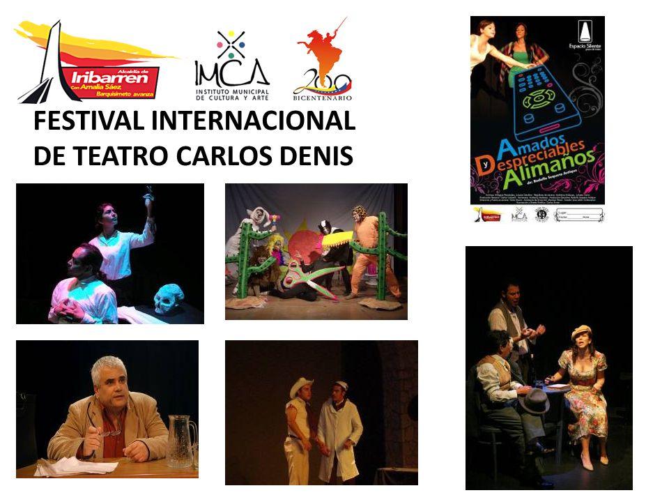 FESTIVAL INTERNACIONAL DE TEATRO CARLOS DENIS