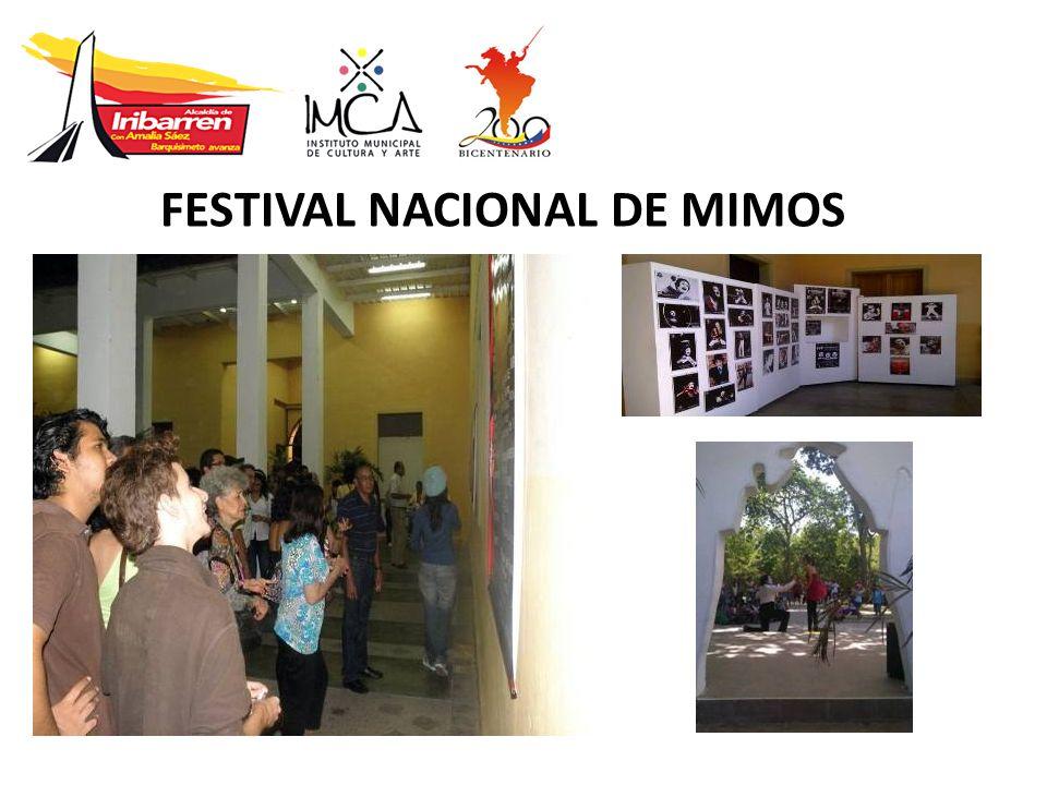 FESTIVAL NACIONAL DE MIMOS