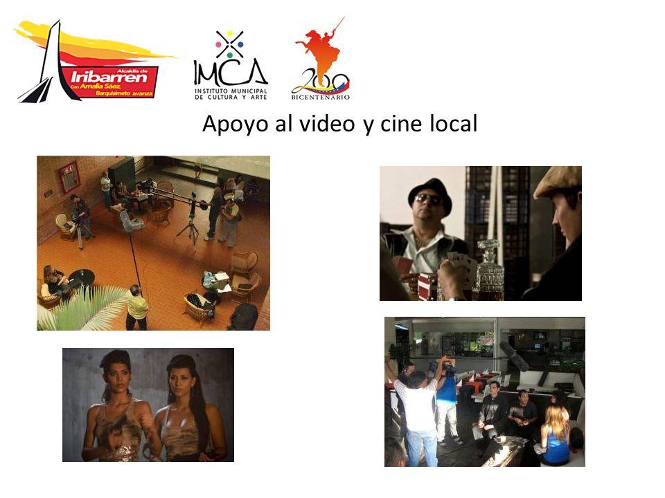Apoyo al video y cine local