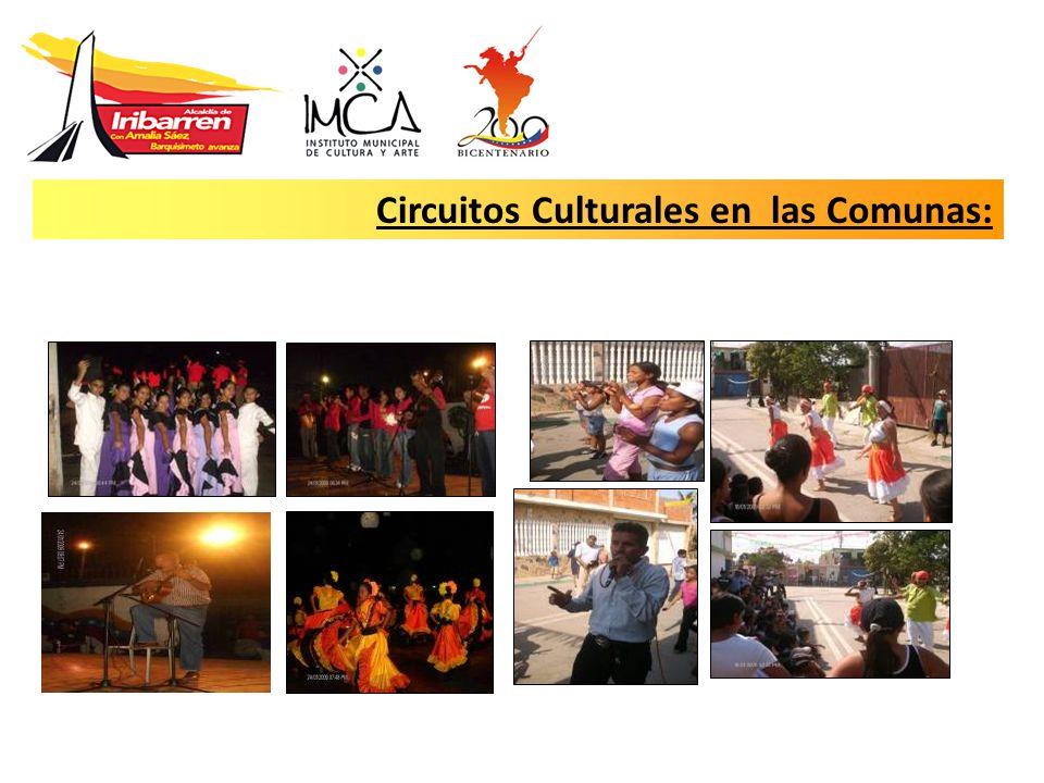 Circuitos Culturales en las Comunas: