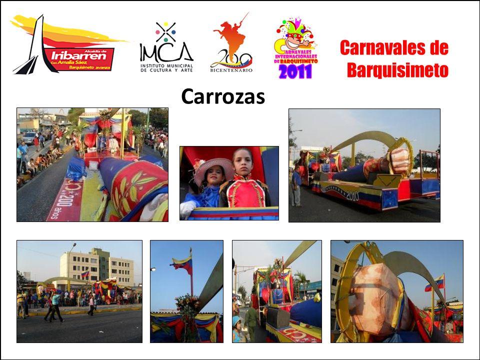 Carnavales de Barquisimeto Carrozas