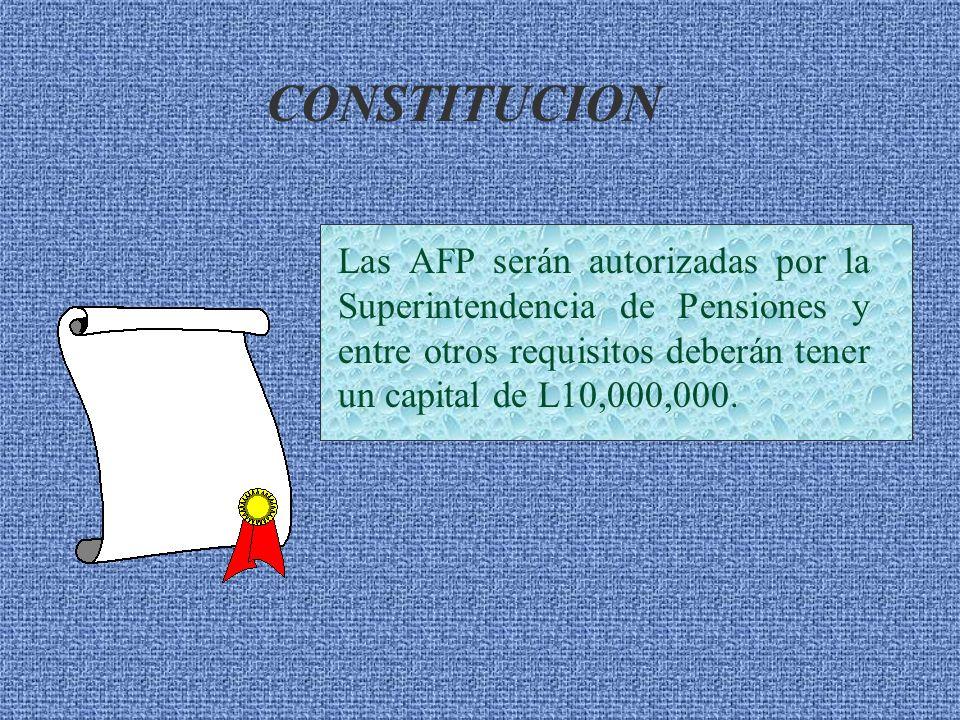Institución previsional de carácter privado, encargada de administrar los fondos de pensiones de los afiliados. ADMINISTRADORA DE FONDOS DE PENSIONES