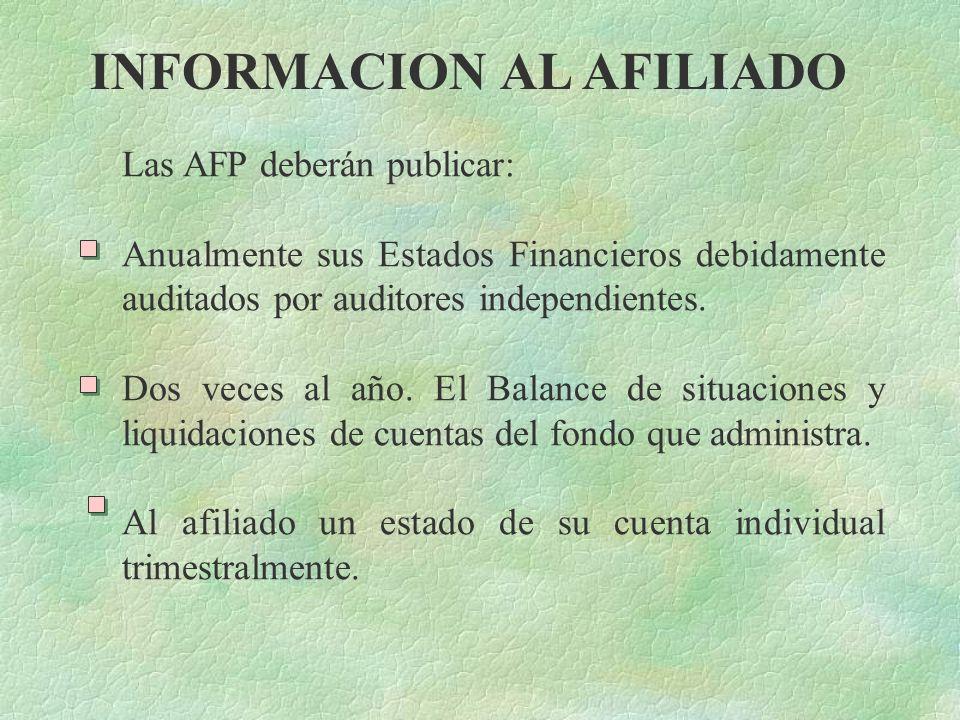 CONSTITUCION Las AFP serán autorizadas por la Superintendencia de Pensiones y entre otros requisitos deberán tener un capital de L10,000,000.