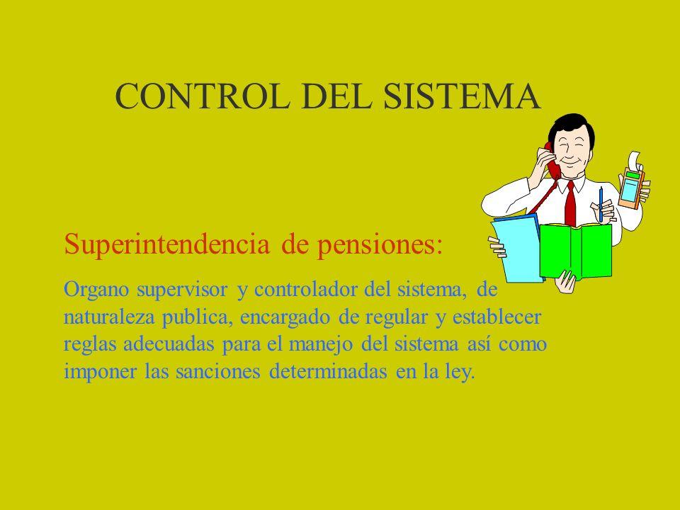 GARANTIA DEL ESTADO El Estado asume los costos de la pensión mínima En el caso de renta programada cuando se agote la CCI Por vejez (60 H y 55M) mínim