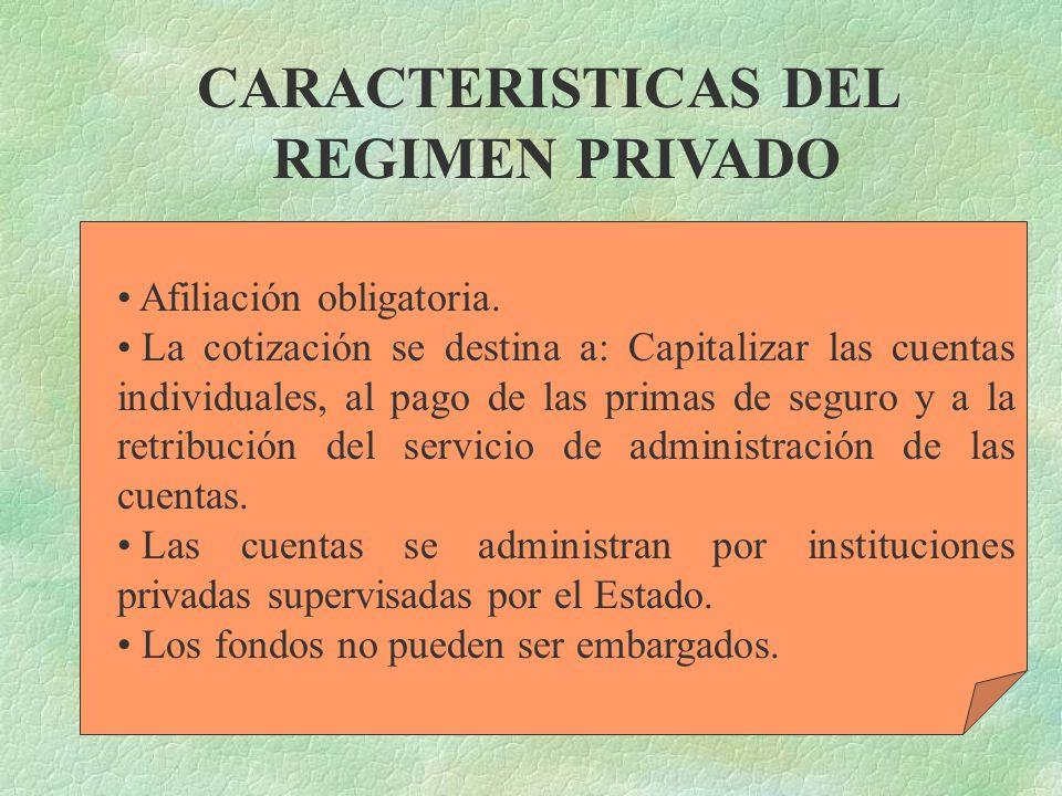 Es el fundamentado en el otorgamiento de una pensión complementaria, financiada a través del régimen financiero de capitalización individual y adminis