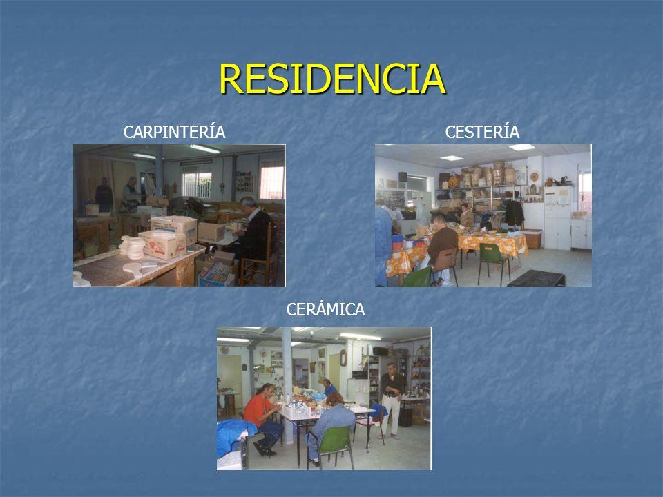 RESIDENCIA CARPINTERÍACESTERÍA CERÁMICA