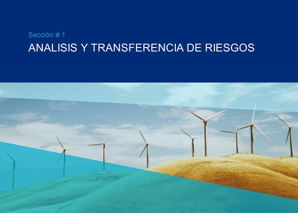 RIESGOS Y SEGUROS EN PROYECTOS DE ENERGÍA EÓLICA 5 de Octubre de 2011 Sergio D. Aboy Senior Vice President Marsh Buenos Aires