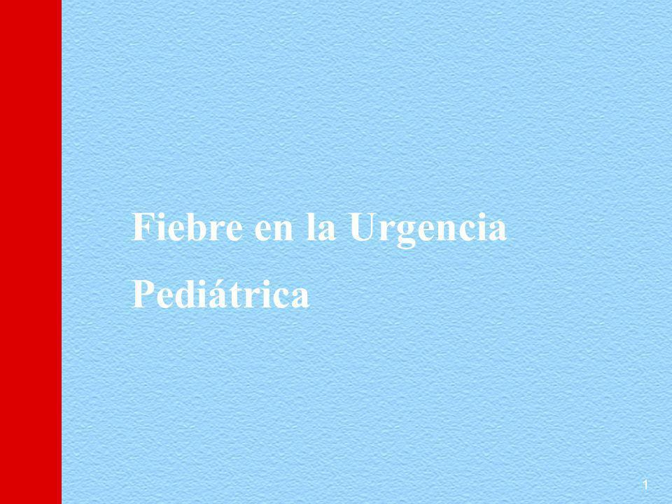 1 Fiebre en la Urgencia Pediátrica