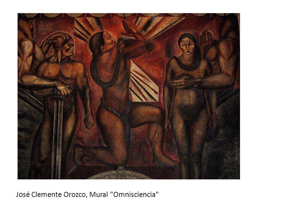 José Clemente Orozco, Mural