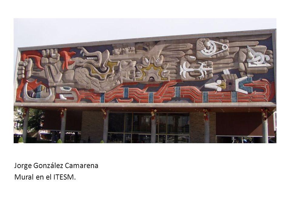 Jorge González Camarena Mural en el ITESM.