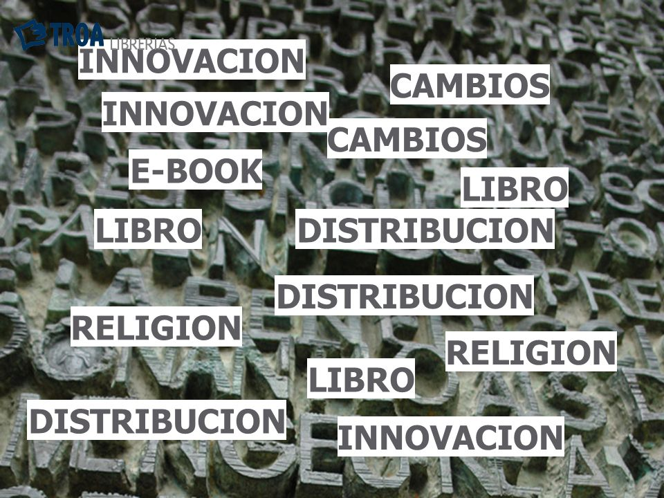 Entrar en el mismo circuito de las otras materias : los libros religiosos se conservan Innovación edición en servicios de búsqueda y profundización clásicos, desentrañar valores y virtudes.