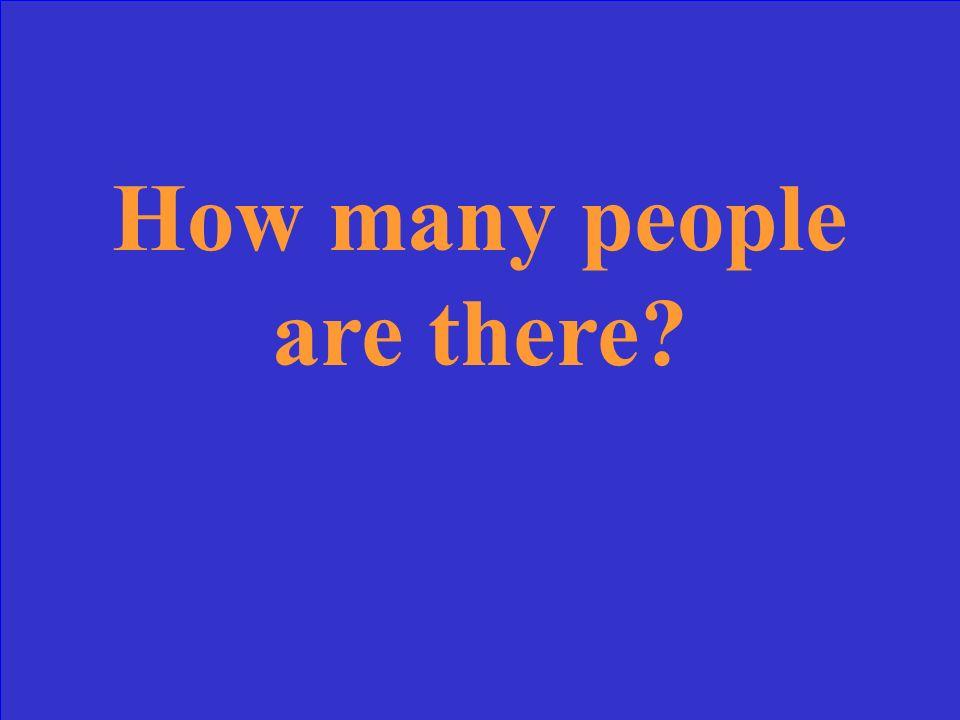 How often…