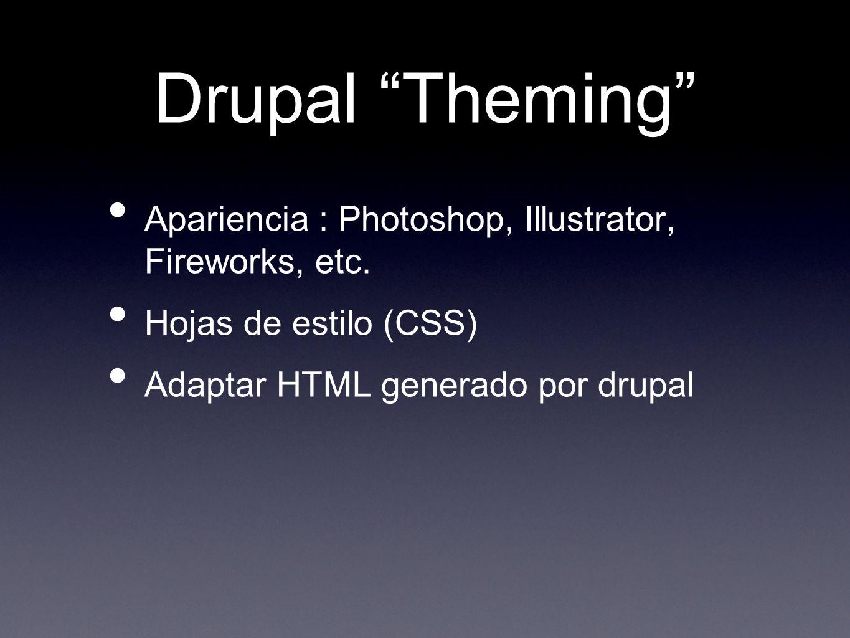 3 pasos 1. Info Files (.info) 2. Template Files (.tpl.php) 3. Adaptar funciones