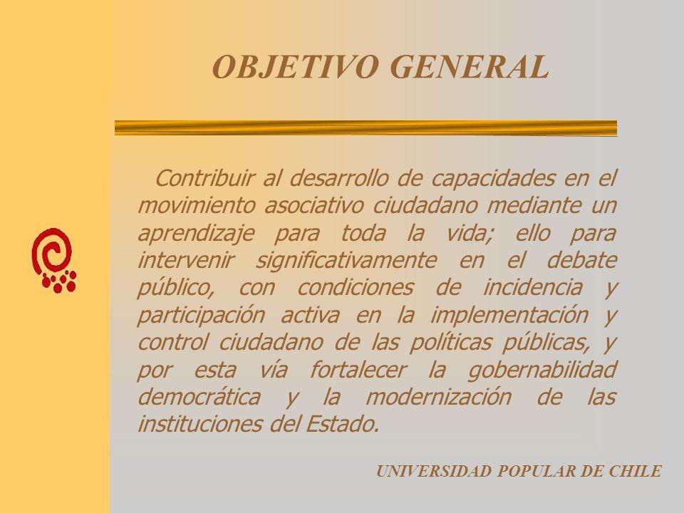 SÍNTESIS HISTÓRICA Tanto la Universidad Popular de Chile, como las Universidades Populares de España - agrupadas en la FEUP -, tienen un ideal común,
