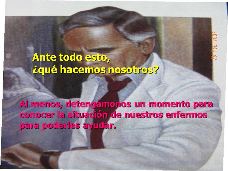 El médico no deberá emprender o continuar acciones diagnósticas o terapéuticas sin esperanza, inútiles u obstinadas.