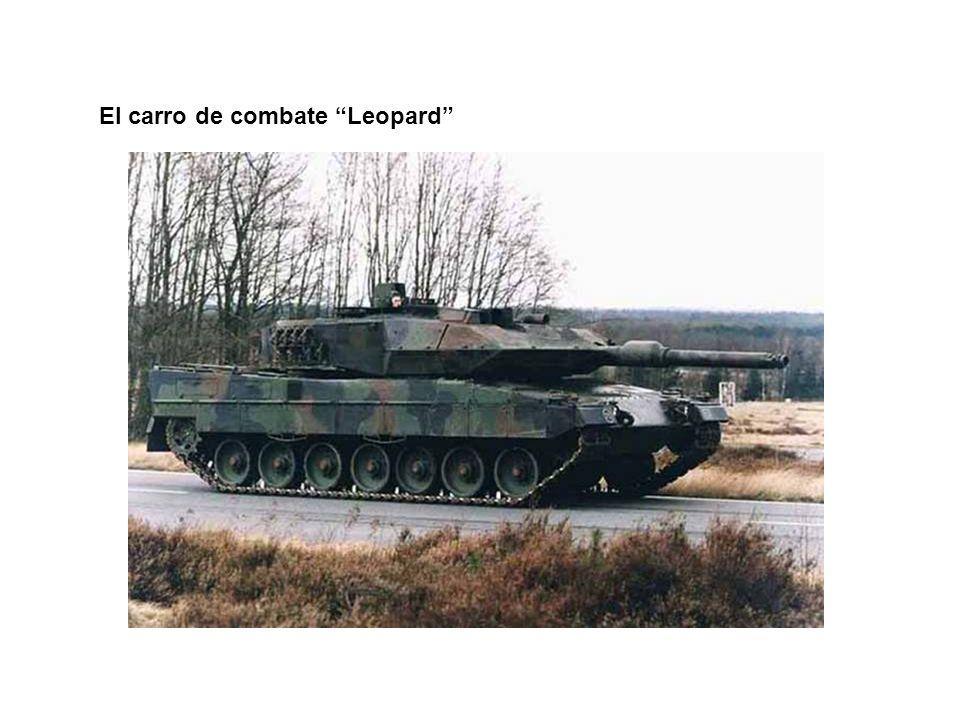 El carro de combate Leopard