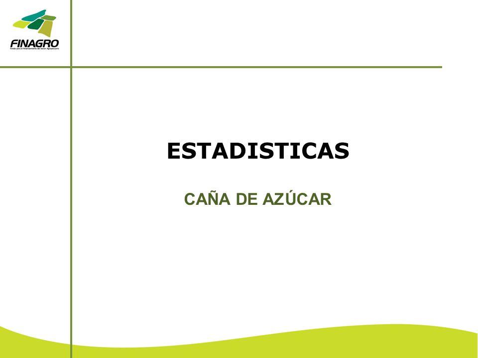ESTADISTICAS CAÑA DE AZÚCAR
