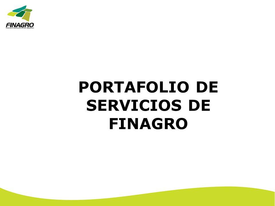 PORTAFOLIO DE SERVICIOS DE FINAGRO