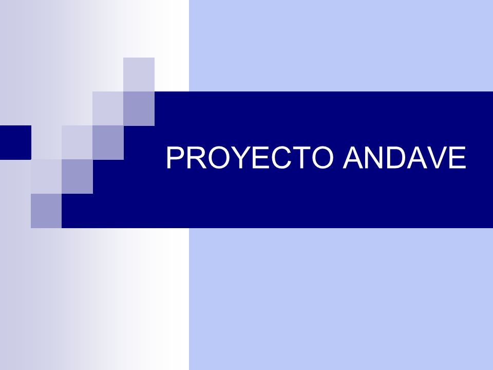 PROYECTO ANDAVE