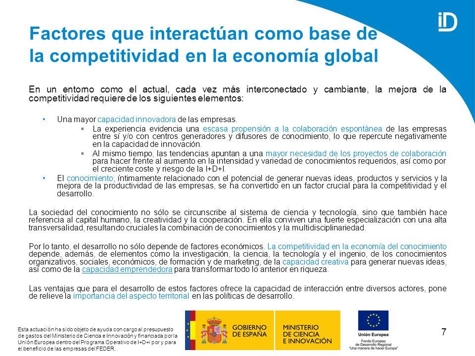 28 EL SISTEMA ESPAÑOL DE INNOVACIÓN: SITUACIÓN MEDIA-BAJA CON RESPECTO A LA MEDIA EUROPEA Fuente: European Innovation Scoreboard 2007, www.proinno-europe.eu/www.proinno-europe.eu/ El índice de innovación europeo sitúa a España como un innovador moderado, con un índice de innovación en el 2007 por debajo de la media de la UE.