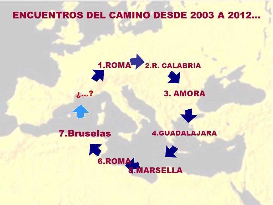 VII ENCUENTRO VII ENCUENTRO MEDITERRÁNEO Bruselas, 09 – 12 de febrero de 2012 TEMA: El papel de la mujer migrante al interno de la familia en el nuevo contexto multicultural de la región del Mediterráneo.