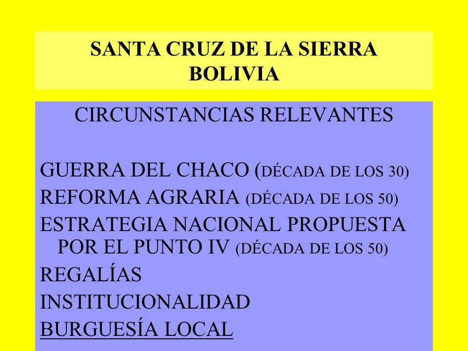 OTROS CASOS DE CONSTRUCCIÓN REGIONAL SANTA CRUZ DE LA SIERRA (BOLIVIA) NEUQUÉN (ARGENTINA) CEARÁ (BRASIL) MAULE (CHILE)