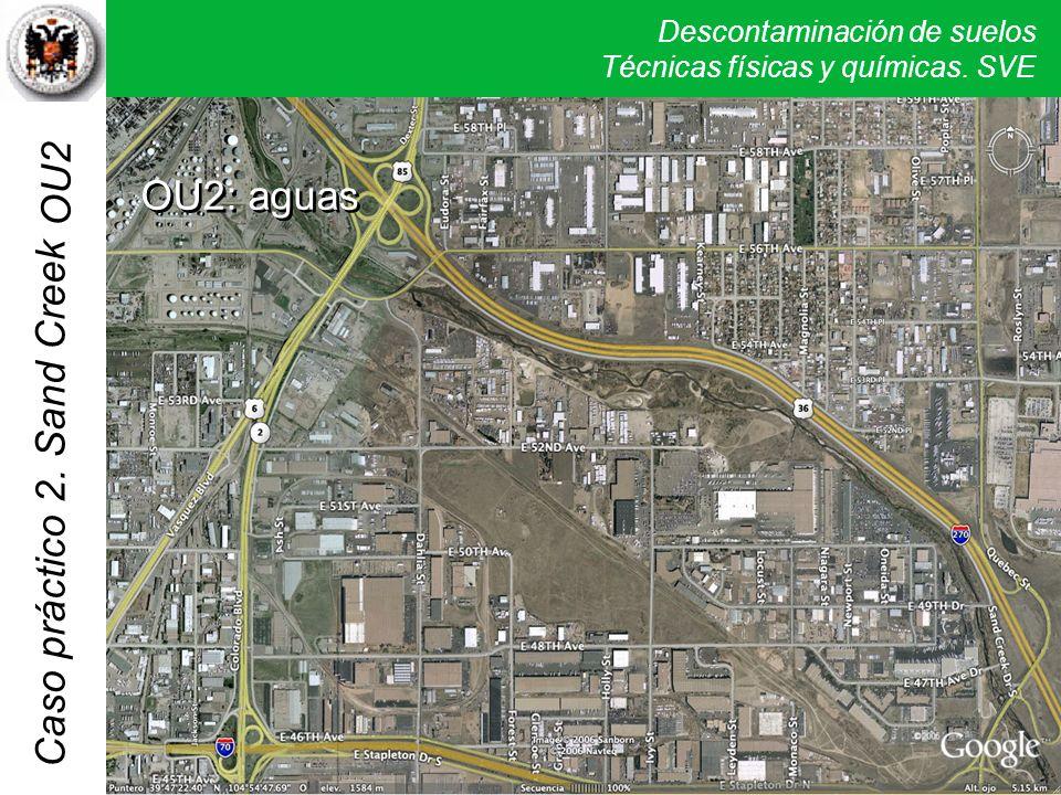 Descontaminación de suelos Técnicas físicas y químicas. SVE Caso práctico 2. Sand Creek OU2: aguas OU2