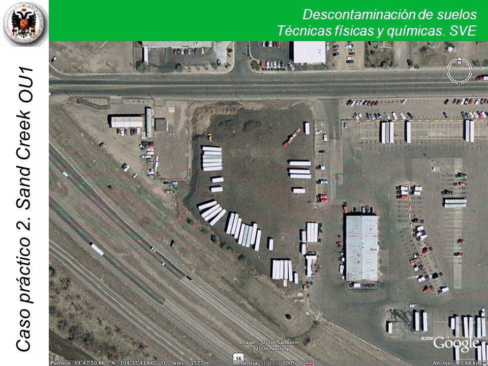 Descontaminación de suelos Técnicas físicas y químicas. SVE Caso práctico 2. Sand Creek OU1