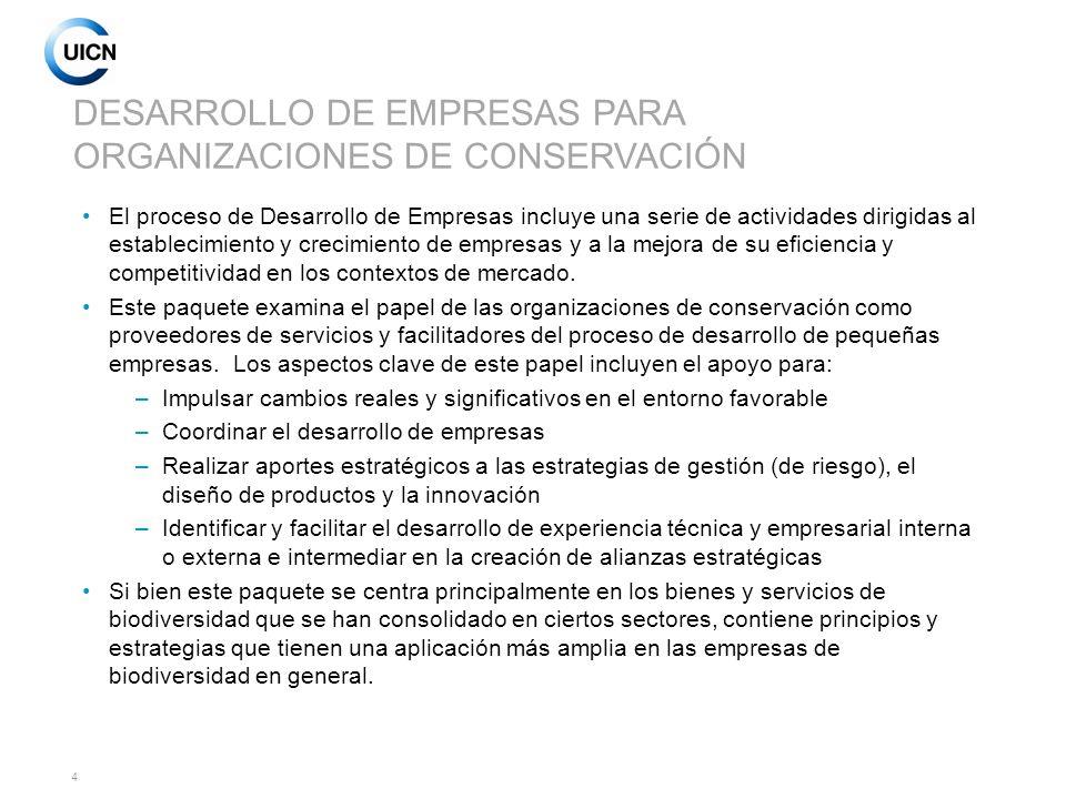 5 LAS PEQUEÑAS EMPRESAS EN EL CONTEXTO DE LA CONSERVACIÓN Estas empresas representan el 80-90% de las empresas y el 50% de los empleos en el sector forestal.