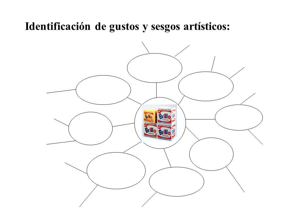 Identificación de gustos y sesgos artísticos: