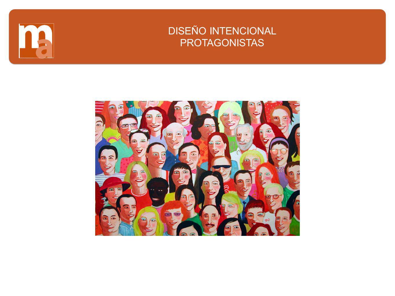 DISEÑO INTENCIONAL PROTAGONISTAS